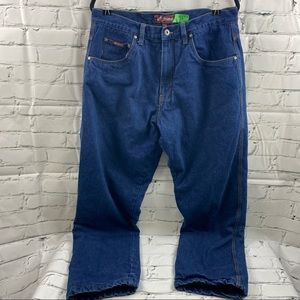 BC clothing fleece lined jeans 36 x 32